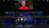 The night Hillary Clinton made history in 90 seconds