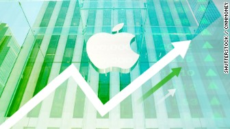 apple stocks up