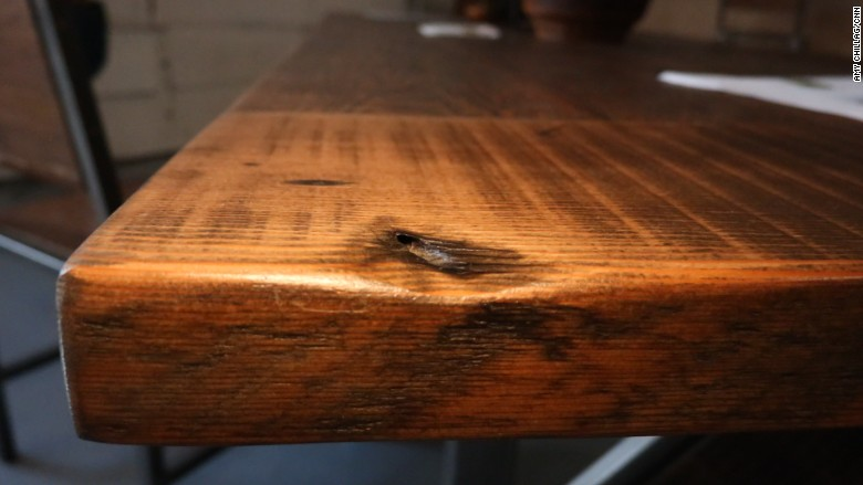 Reclaimed Wood Gets Turned Into Beautiful Furniture At