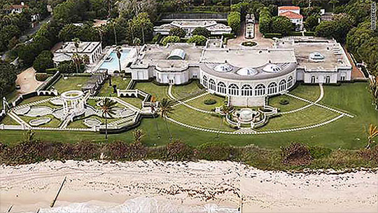 That time a Russian billionaire paid Trump $95 million for a mansion