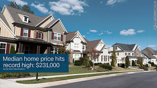 Home prices have recovered from the housing crash