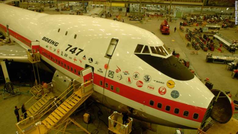 boeing 747 end production
