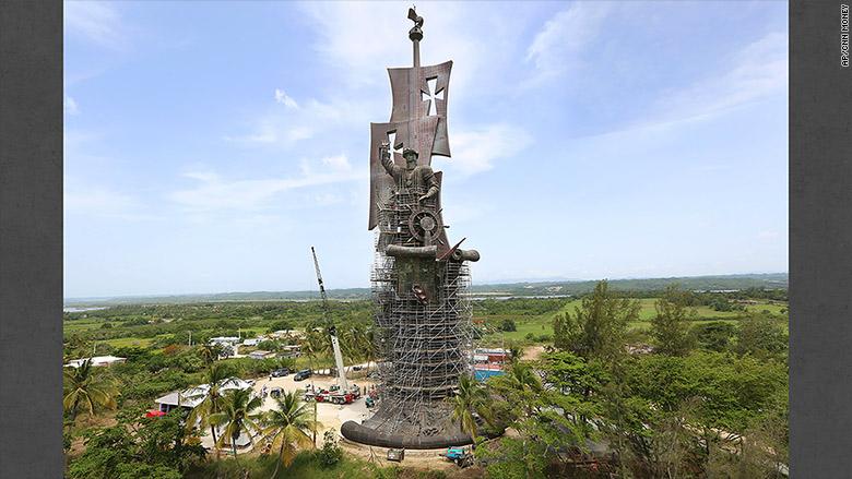 tsereteli columbus statue
