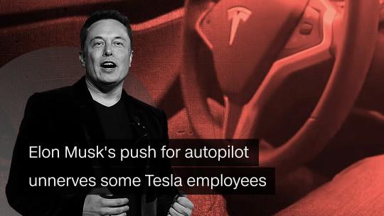 Tesla musk autopilot