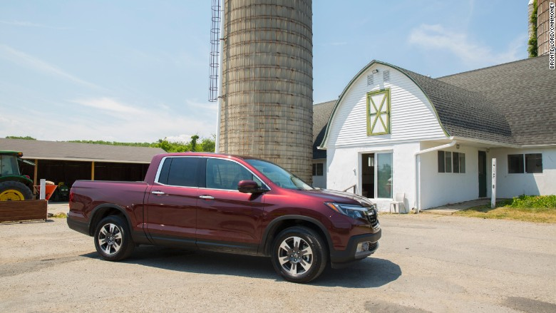 2017 honda ridgeline farm side alt
