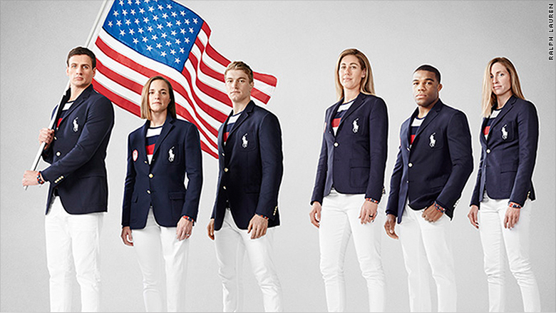 olympics uniforms fashion athletes usa