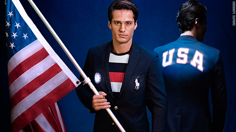 olympics uniforms fashion athletes usa 2