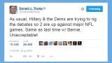 Donald Trump attacks presidential debate schedule