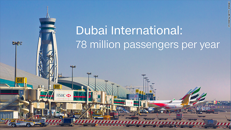 dubai International airport stat