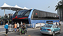 Will China's 'elevated bus' really work?