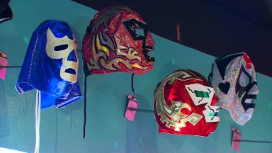 Taco shop inspired by Lucha Libre wrestling