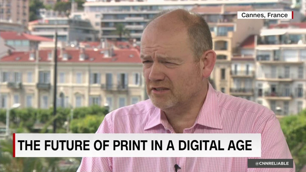 NYT CEO: Profitable print here to stay