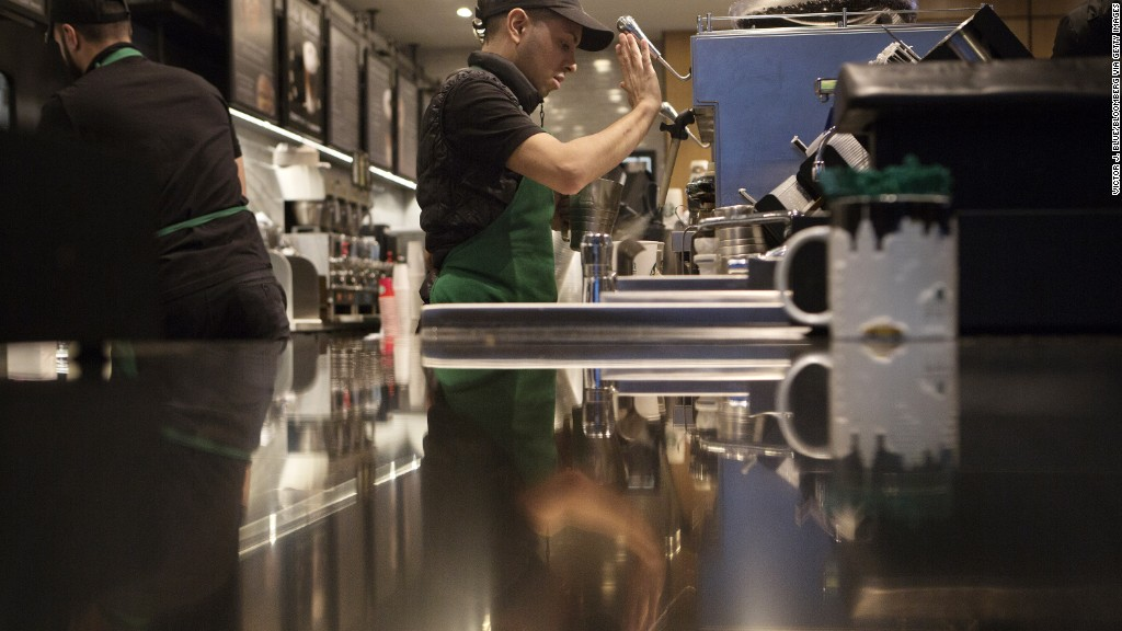 Starbucks employee takes on the company's labor practices