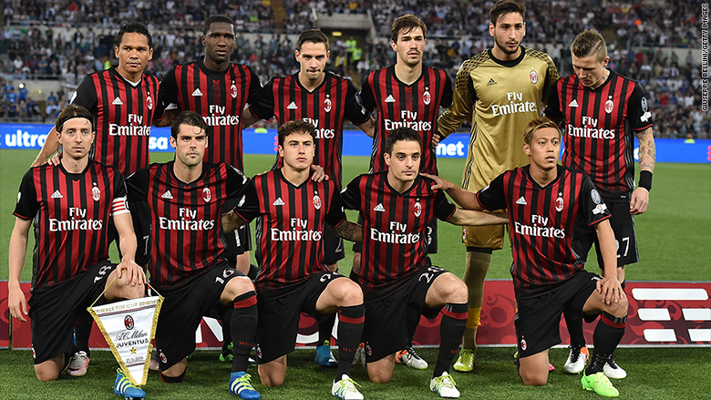 Ac milan sold to chinese investors for 820 million aug for Ac milan club