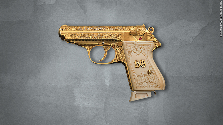 Walther Ppk >> Golden gun once owned by Nazi leader Göring is up for auction