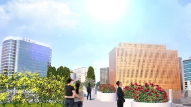 Seoul transforms aging overpass into skygarden