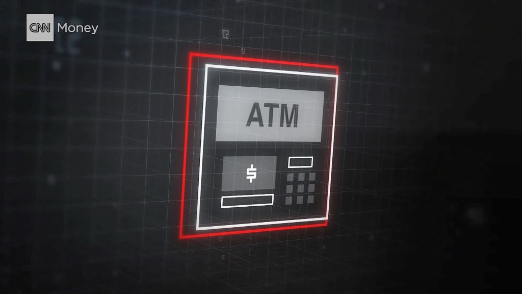 Watch a hacked ATM spew cash