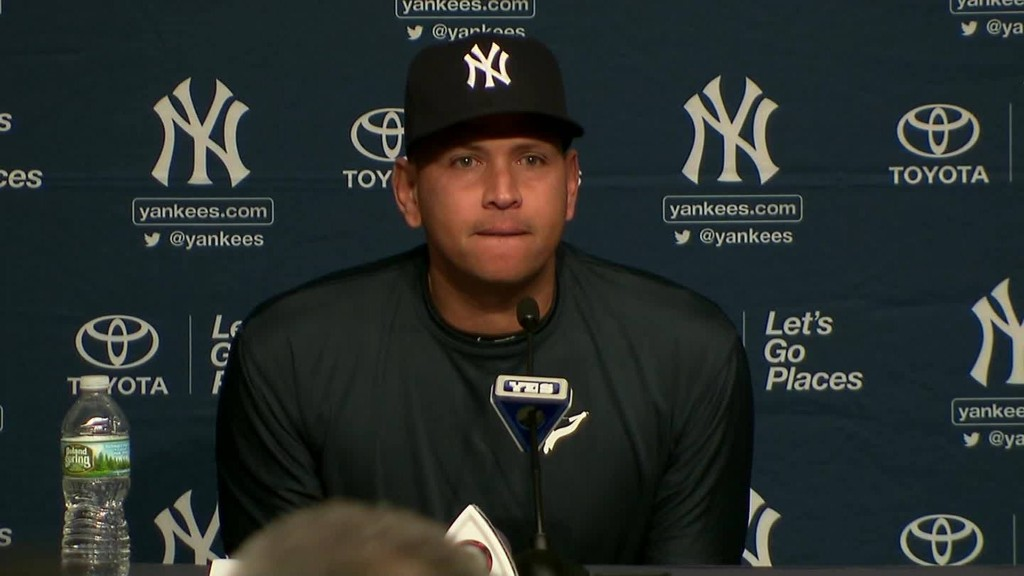Alex Rodriguez: Time to say goodbye
