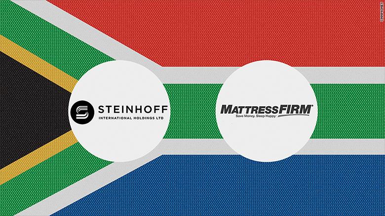 steinhoff matress firm