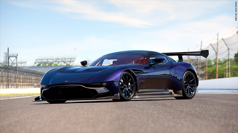 Aston Martin Vulcan Cool Cars Being Auctioned At Pebble - Cool car companies