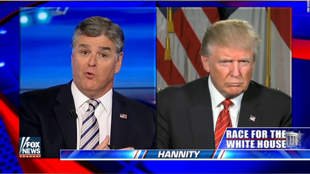 Trump cancels 'Hannity' appearance
