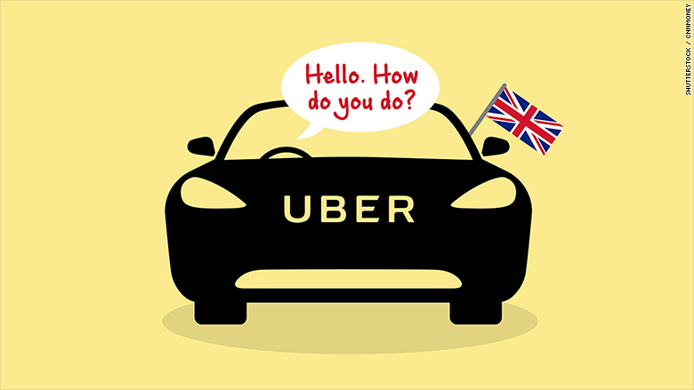 uber english language