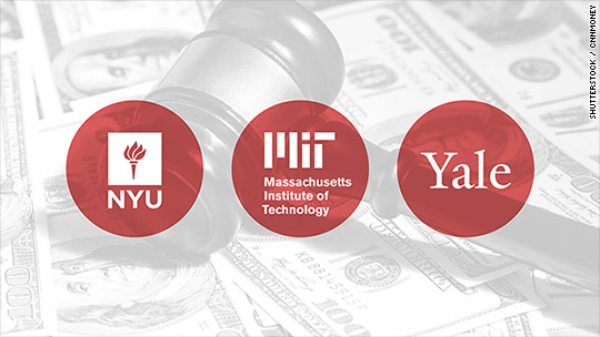 MIT, NYU, Yale sued over retirement plan fees