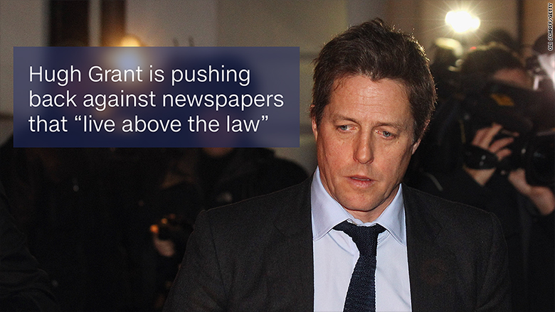 hugh grant newspapers