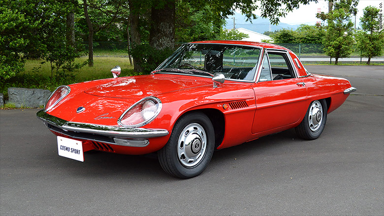 Mazda Cosmo Sport Cool Cars Being Auctioned At Pebble - Carl's cool cars