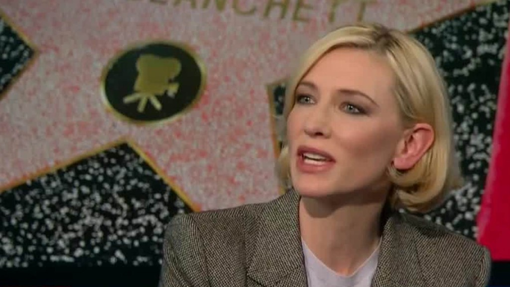 Cate Blanchett on the Hollywood pay gap