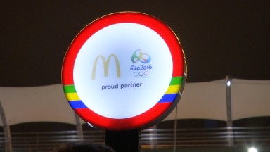 McDonald's is helping kids get to the Olympics