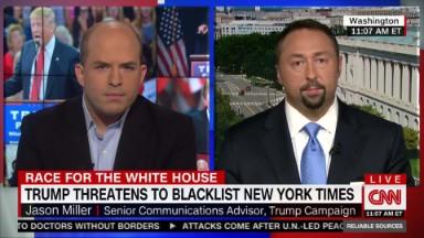 Trump campaign taking aim at media bias