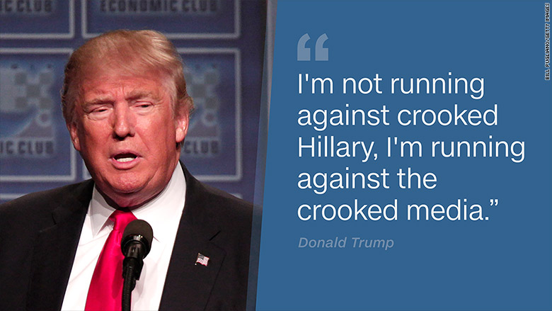 Donald Trump campaign against 'crooked media': What's next ...