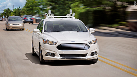 Michigan may soon allow driverless cars on the road