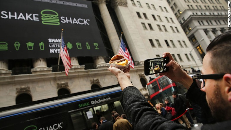 Shake Shack is giving away free burgers -- but get there fast - Aug. 16, 2016