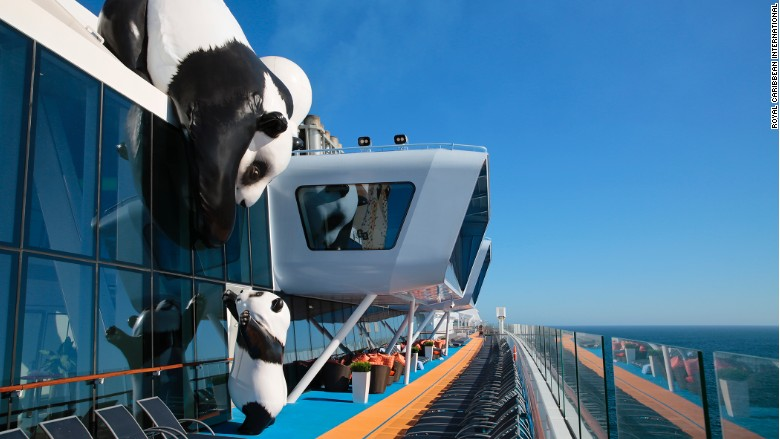 ovation of the seas cruise ship pandas