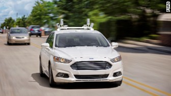 self driving ford