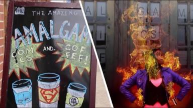 Pow Wham Zap! Meet a real life comic book hero