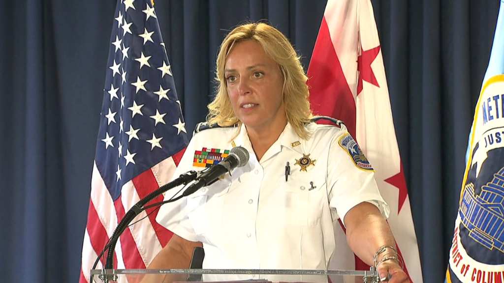 Washington D.C.'s police chief heads to the NFL