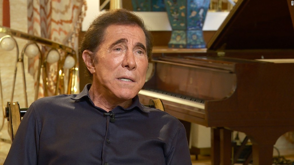 Steve Wynn hasn't decided who he will vote for in November
