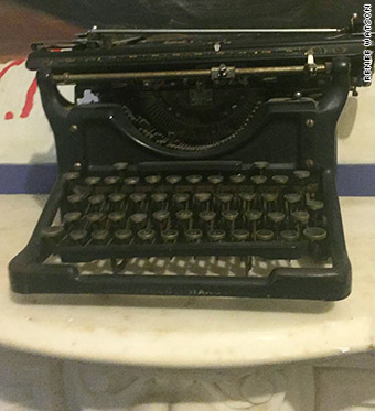 langston hughes typewriter