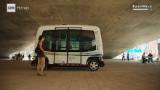Self-driving buses hit the road in Helsinki