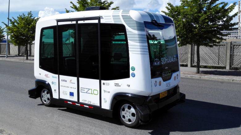 self driving bus 2