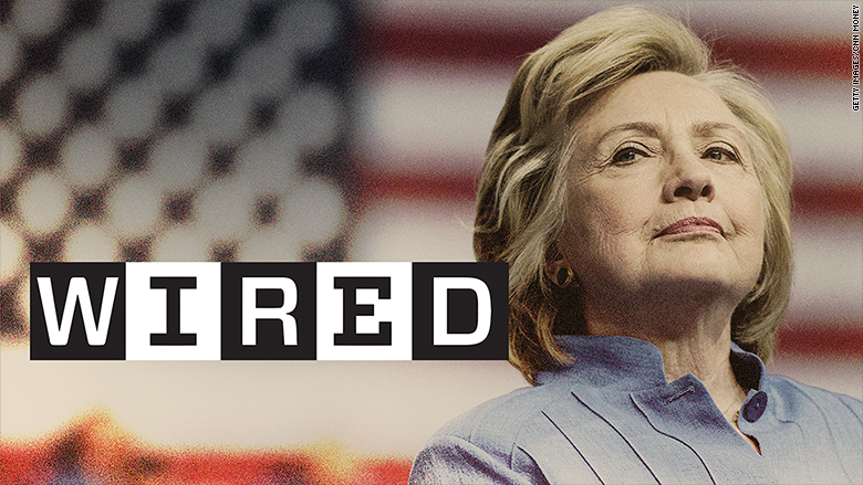 wired endorses clinton