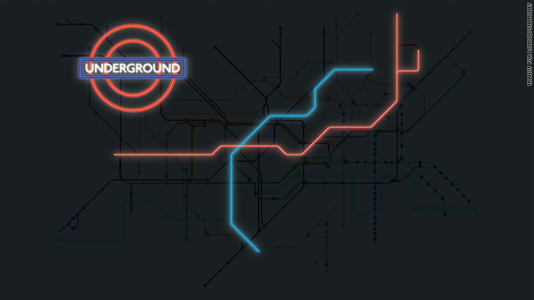 Exciting news for the London Tube