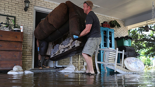 Flood-ravaged Louisiana's next problem