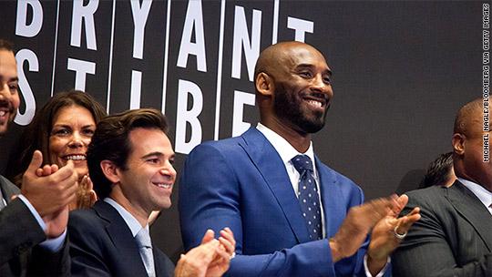 Kobe Bryant reveals his $100 million venture capital fund