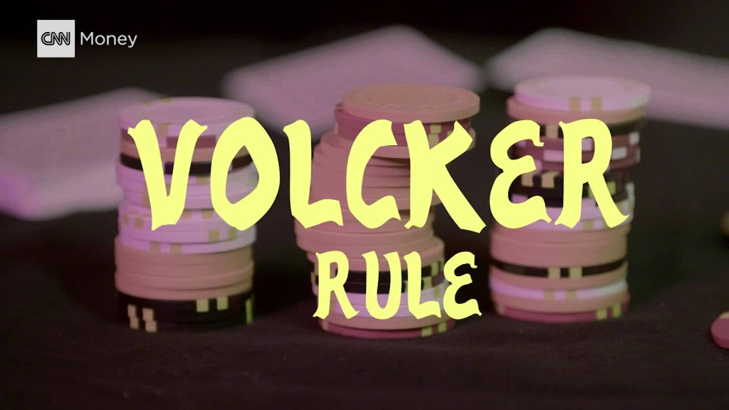 The Volcker Rule Explained