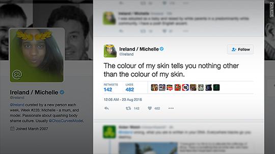Trolls bombard plus-size model with racist slurs