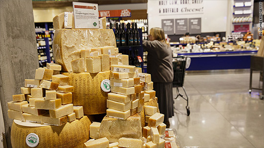 The government is buying $20 million in surplus cheese